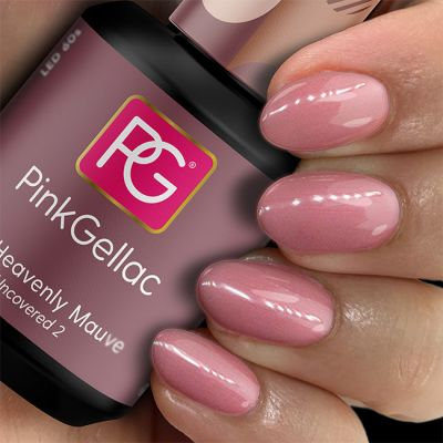 Pink Gellac UV Nagellack 198 Heavenly Mauve
