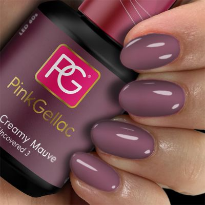 Pink Gellac Gel-Lack 228 Creamy Mauve Muster