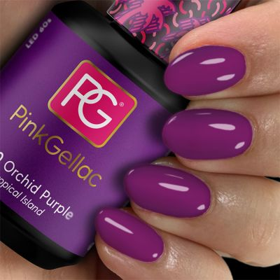 250 Orchid Purple UV Nagellack Pink Gellac