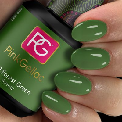 261 Forest Green UV Nagellack Pink Gellac
