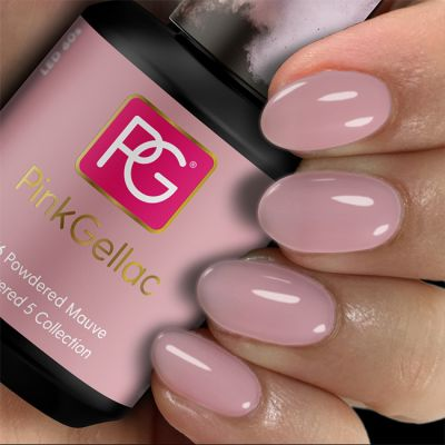 276 Powdered Mauve UV Nagellack Pink Gellac
