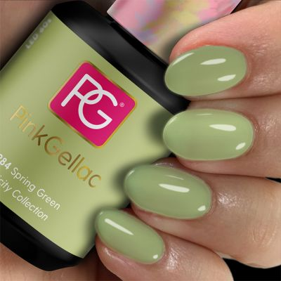 Pink Gellac UV Lacke 284 Spring Green