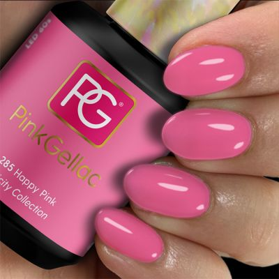 285 Happy Pink UV Nagellack Pink Gellac