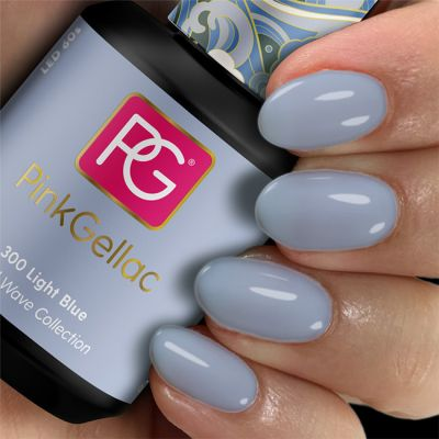300 Light Blue UV Nagellack Pink Gellac