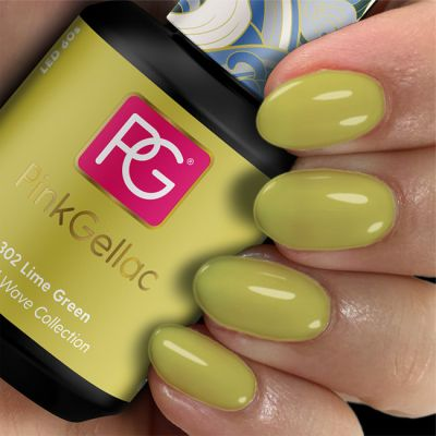 302 Lime Green UV Nagellack Pink Gellac