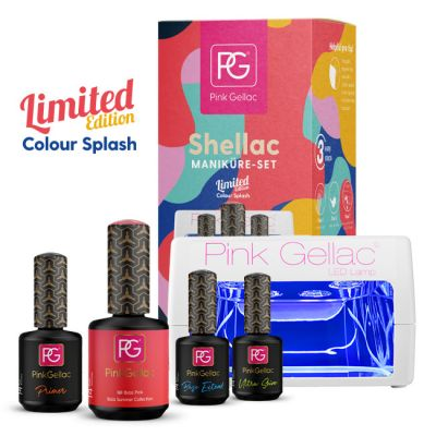 30% RABATT Maniküre Set Color Splash mit Gratis Farbe
