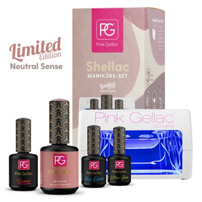 30% RABATT Maniküre Set Neutral Sense + 15ml Gratis Farbe
