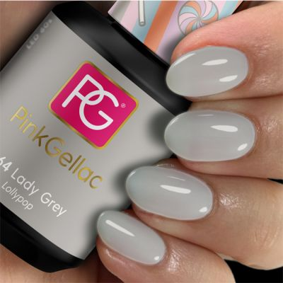 264 Lady Grey UV Nagellack Pink Gellac