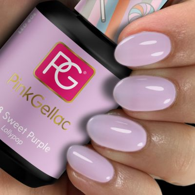 268 Sweet Purple UV Nagellack Pink Gellac