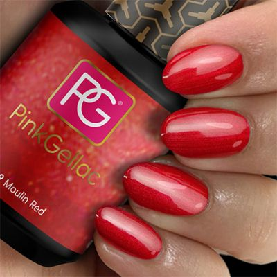 149 Moulin Red UV Nagellack Pink Gellac