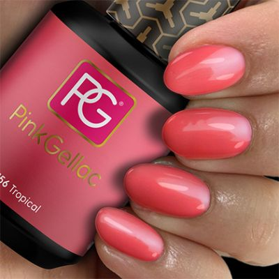 156 Tropical UV Nagellack Pink Gellac