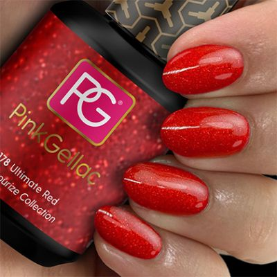 178 Ultimate Red UV Nagellack Pink Gellac