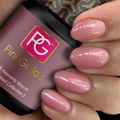 198 Heavenly Mauve UV Nagellack Pink Gellac