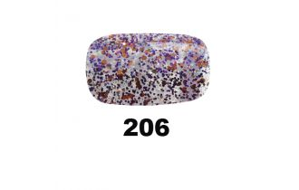 206 Bedazzled Purple UV Nagellack Pink Gellac