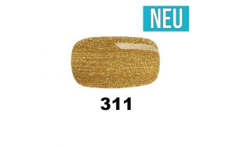 311 Crushed Gold UV Nagellack Pink Gellac