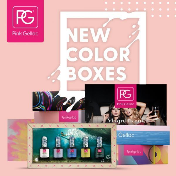 Color Boxes - Pink Gellac