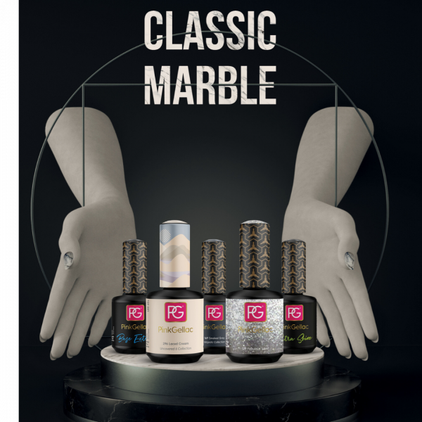 Classic Marble Nail Art