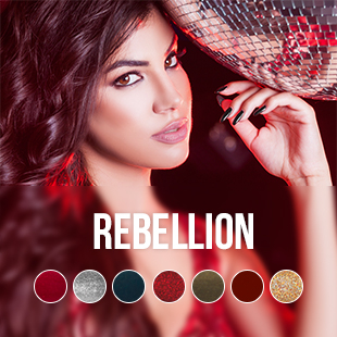 Rebellion UV Nagellack Farbkollektion
