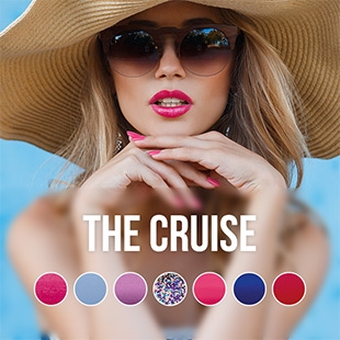 The Cruise UV Nagellack Farbkollektion