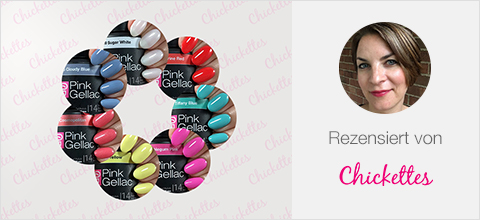 Pink Gellac Candy Couture UV Nagellack Bewertung