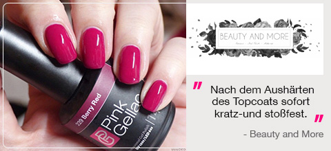 Pink Gellac Bewertungen Beauty and More