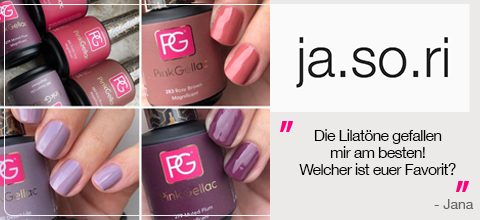 @Ja.so.ri Bewertung Pink Gellac Magnificent