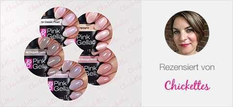 Pink Gellac Uncovered Kollektion Bewertung von Chickettes