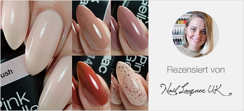 Pink Gellac Uncovered 2 Nagellackfarben Kollektion Bewertung