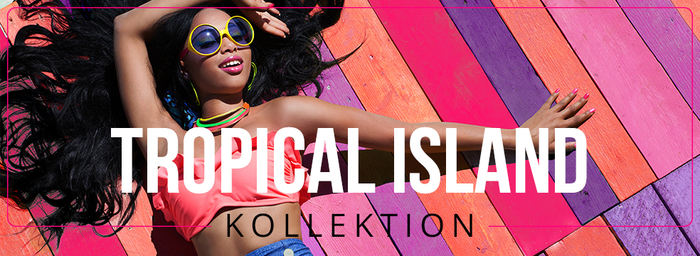 Tropical Island Nagellack Farbkollektion